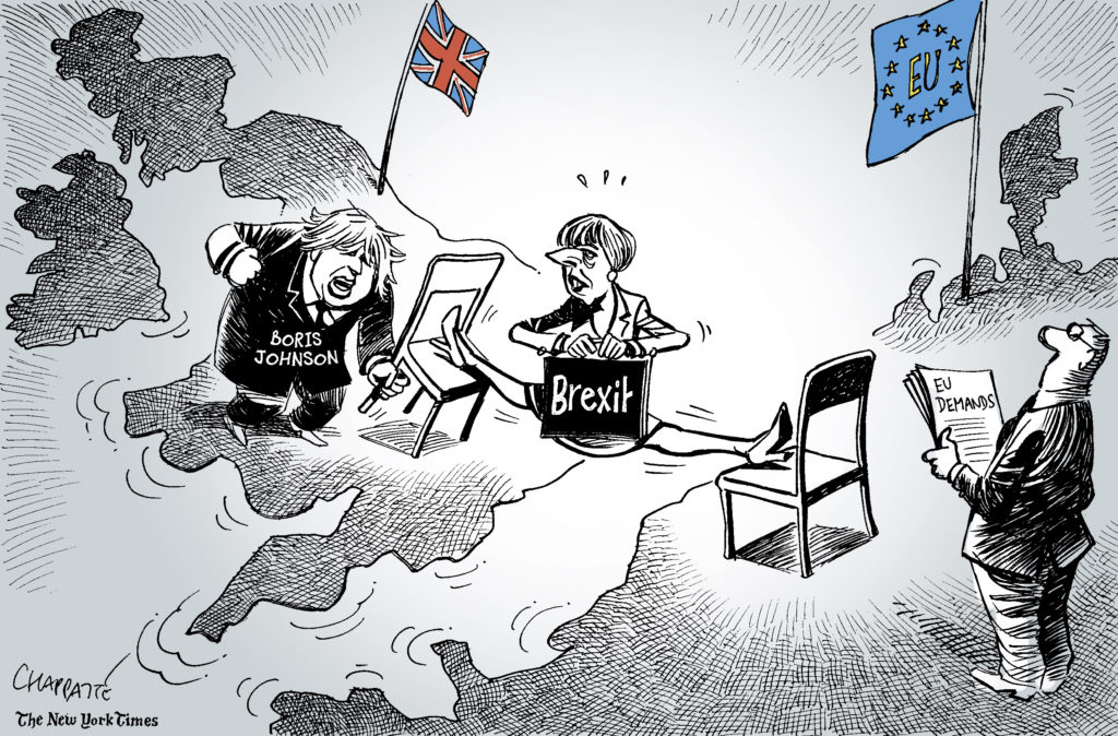 Chappatte And The Stifling Of Graphic Satire Global Geneva