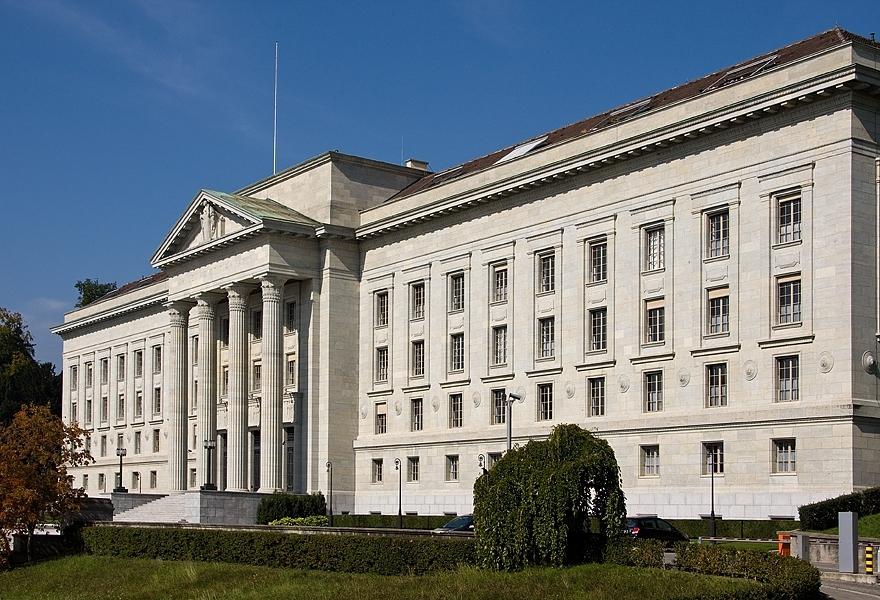 The Federal Courthouse n Lausanne. (Photo: Ville de Lausanne)